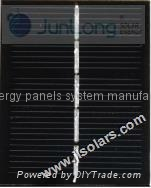 3V 170mA 0.5W Epoxy Solar Panels Factory