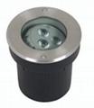 Angle adjustable led underground light