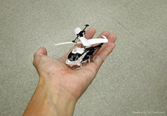 the smallest rc helicopter, only 8cm with iphone control, very small package