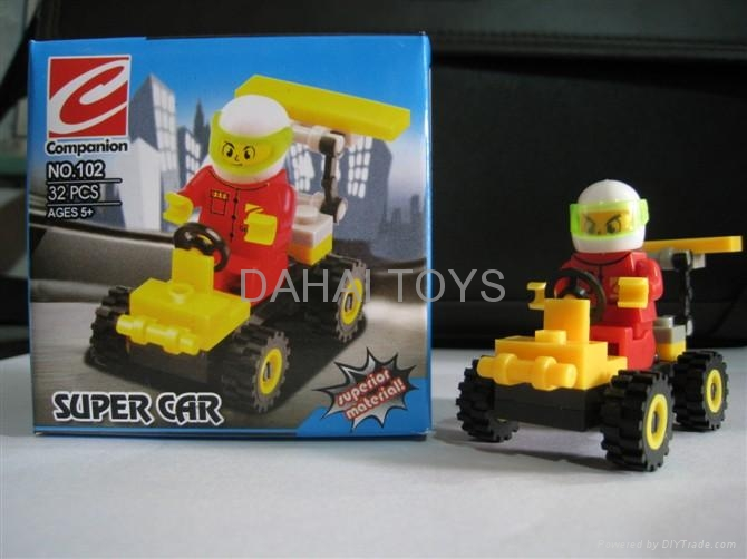 compatible to legol educational block toys, small size with very cheap price 5