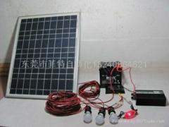 1家用太阳能发电组