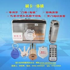 CPU-K刷卡一体锁、防复制刷卡锁,PID刷卡锁