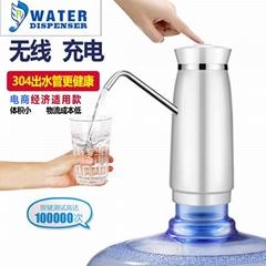 批发智能定量 电动吸水饮水机水龙头自动上水压水器 桶装水抽水器