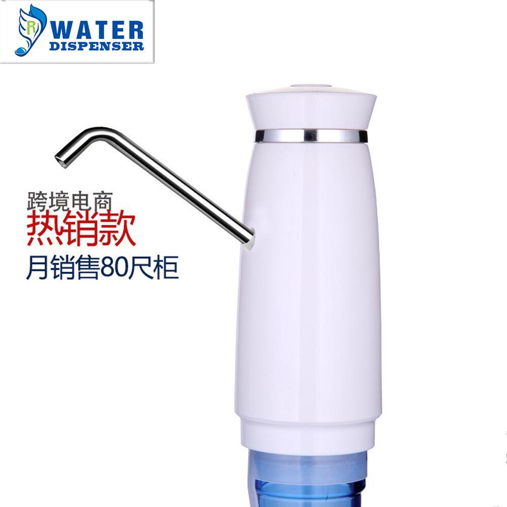批發智能定量 電動吸水飲水機水龍頭自動上水壓水器 桶裝水抽水器 3