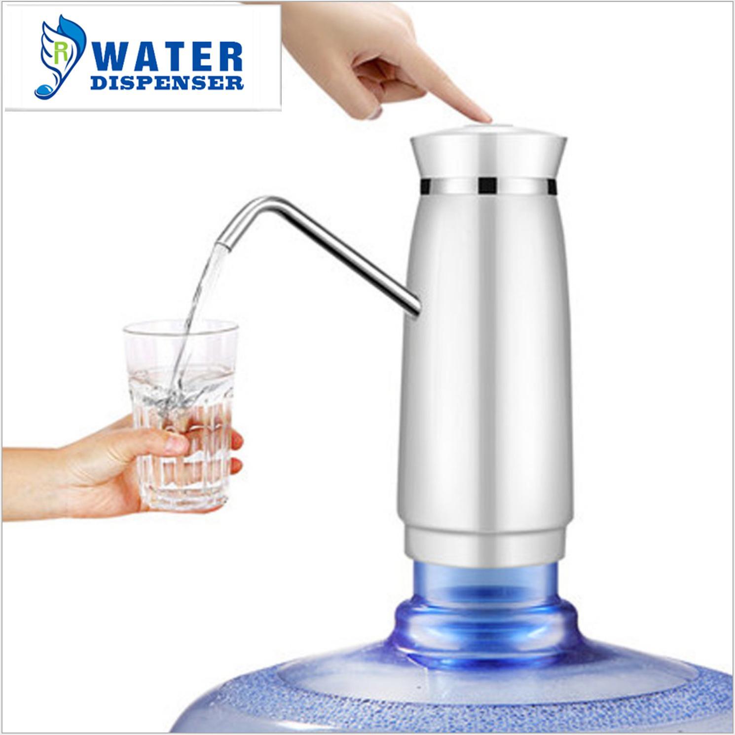 批發智能定量 電動吸水飲水機水龍頭自動上水壓水器 桶裝水抽水器 5