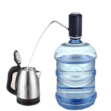批發無線電動抽水器桶裝水壓水器純淨水上水器礦泉水抽水器充電式 3