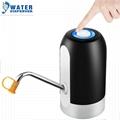 專供印度市場桶裝水電動抽水器充電礦泉純淨水桶壓水器自動上水器 3