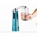 電動壓水器無線充電上水器桶裝水支架杯碰出水抽水器 4