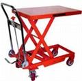 低床型油压拖板车 5