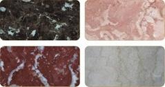 Stone-imitated ecological plate