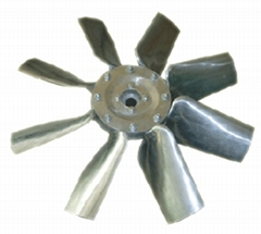 Impeller for tunnel axial fan