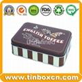 Round tin cookies tin box biscuit tin can food tin container 4