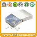 Slide candy tin box sliding gum mint tin can 2