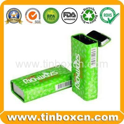 Slide candy tin box sliding gum mint tin can 5