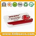 Slide candy tin box sliding gum mint tin can 3