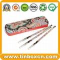Metal tin pencil box pencil tin case