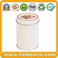 Food Packaging Round Metal Candy Tin Box 2