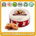 Food Packaging Round Metal Candy Tin Box 3