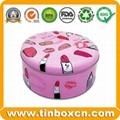 Food Packaging Round Metal Candy Tin Box 5