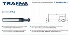 高硬度材料专用铣刀