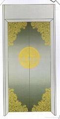 彩色蚀刻不锈钢电梯装饰板