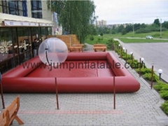 Inflatable pool with water balls,swimming pool