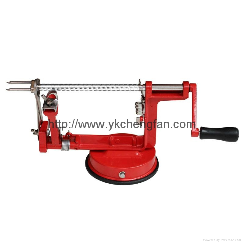 Apple peeler corer slicer 2