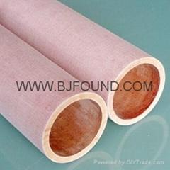 NEMA C Canvas tube phenolic tube Cloth tube insulation tube