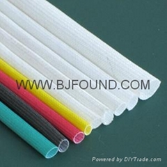 Fiber glass sleeving ins