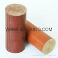3722 Phenolic cotton rod insulation rod phenolic rod