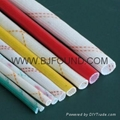 2715 PVC glass fiber sleeving insulation sleeving