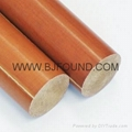 3724  Phenolic cotton rod insulation rod Phenolic rod Cloth rod