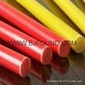 GPO3 polyester mat rod,insulation rod