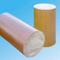 3724  Phenolic cotton rod insulation rod Phenolic rod Cloth rod