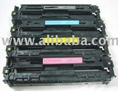 HP CB540-543 Color Toner Cartridge