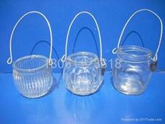 玻璃烛台烛杯