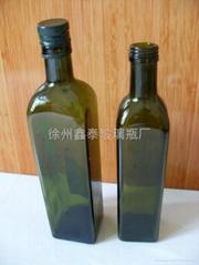 墨绿橄榄油玻璃瓶
