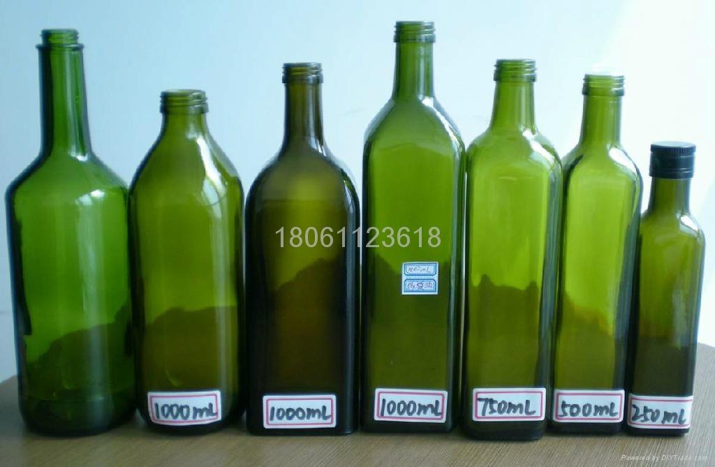 Olive oil bottles 2