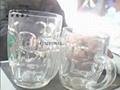 Press glass, beer mug, mugs