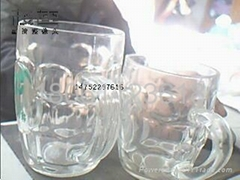 Press glass, beer mug, mugs