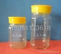 Honey bottles   cans bottles