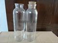 Cold tea bottles