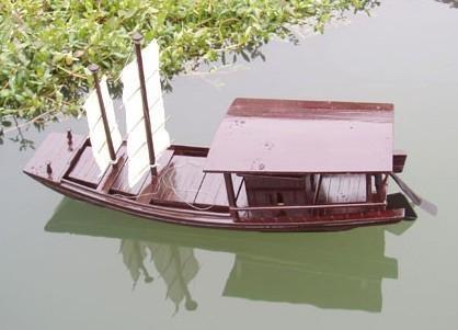 模型木船 2
