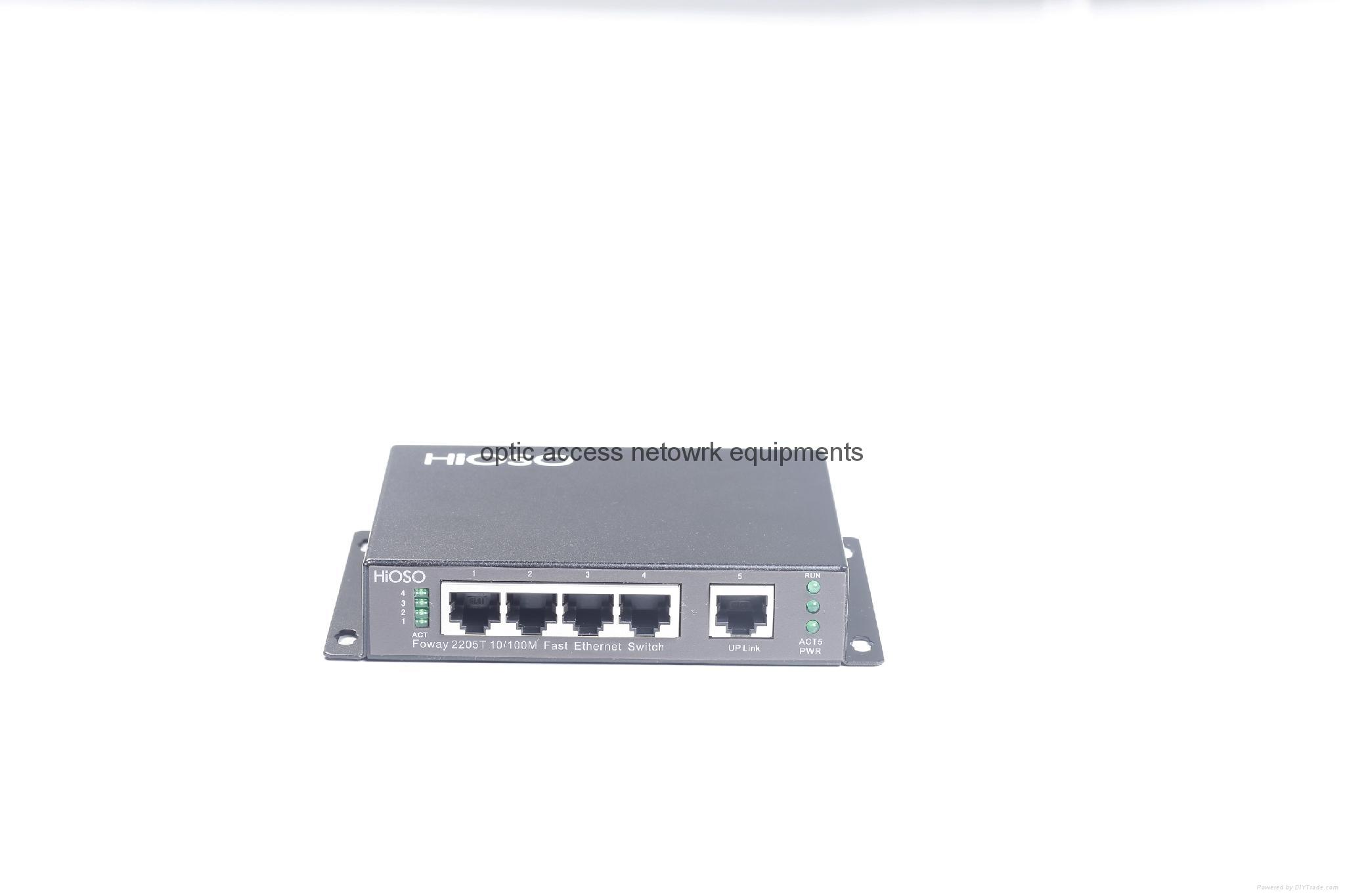 4+1 5 port ethernet switch 100M switch 3