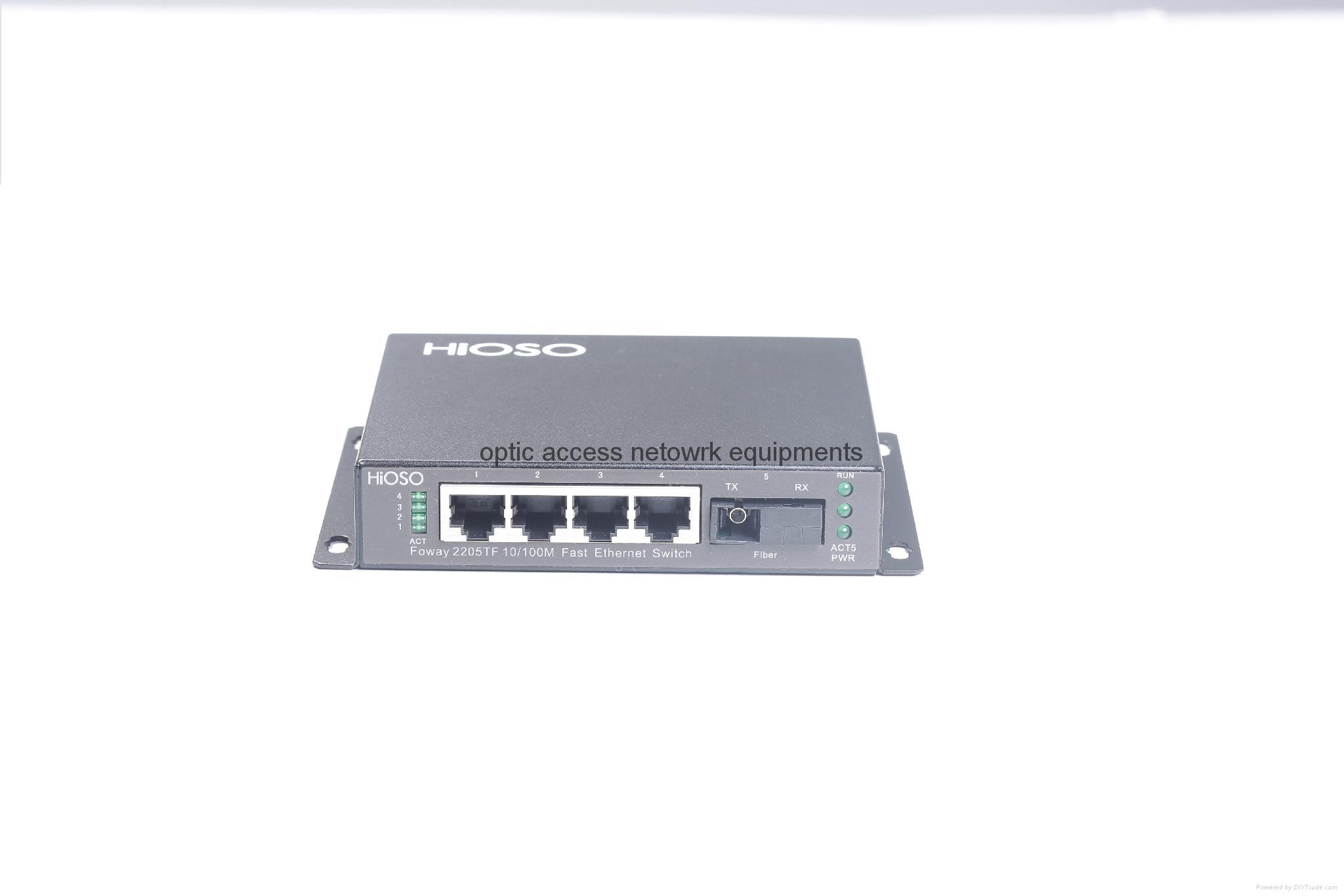 4+1 5 port ethernet switch 100M switch 4