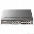 18 port 100M fiber switch 16+2 optic