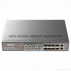 16 port fiber switch  16 port Gigabit fiber switch