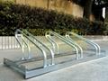 熱鍍鋅自行車停車架更美麗堅固 3