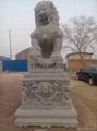 石狮子石雕大理石雕刻 2