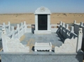 大理石花岗岩墓碑 1